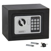 Wholesale Keypad Lock Security Home Gun Durable powder coated finish Cash Jewelry Hotel Digital Electronic Safe Box