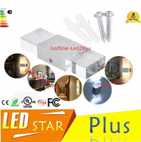 Wholesale Modern led wall lamps W bed room bedside lamp Aluminum Acrylic bathroom light living room indoor wall decoration lighting