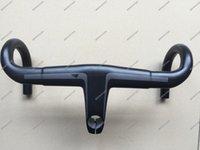 Wholesale T800 UD Weave Carbon Handlebar mm x mm Road Bike Handlebar H11 Aerocockpit CF Integrated Bar