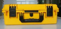 Wholesale Tool case box waterproof equipment case Impact PP ALLOY tool case tool box with Sponge Foam GL