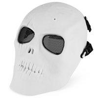 bb paintball guns - 2016 Men New Arrival Winter Skull Skeleton Hot Selling Airsoft Paintball BB Gun Full Face Mask Shot Helmets For Out Door Sports