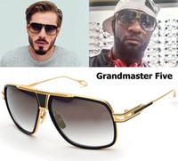 retro style sunglasses - 2016 Fashion Dita Grandmaster Five Style Sunglasses Men Women Brand Designer Vintage Retro Sunglasses Gafas Oculos De Sol