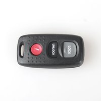 Wholesale 3Buttons Replacement Keyless Car Entry Remote Key Fob Clicker Transmitter For Mazda