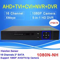 Wholesale Hisiclion Sensor Blue ray Case Two SATA Channel in Function P P P H Hybrid TVI CVI NVR AHD DVR Freeshipping