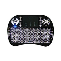 andriod games - Mini Keyboard Backlit Mouse Multi touch Pad G Rii i8 Wireless Game Keyboard Fly Air Mouse Remote for MXQ Andriod TV Box IPTV