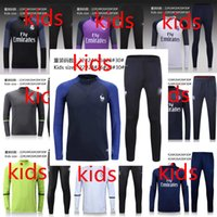 atletico madrid real - 2016 real madrid Tracksuits top quality Training suit BENZEMA JAMES BALE kids PSG juve Atletico Madrid Chelsea football Tracksuits