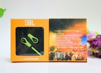 audio note - JBL Stereo Headphone MM In Ear Earphone JL Audio Headset With Mic Mobilphone Hands Free For iPhone Smamsung S7 Note