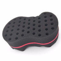 add double - Double Sides Magic Twist Hair Sponge Brush adds texture styling tools hair coil curler afro braid hair wave coil
