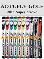Wholesale 2015 Super Stroke golf grips cew for putter good PU fat putters clubs grip