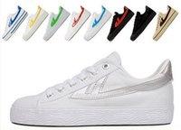 Wholesale 2016 new WARRIOR casual shoes men shoes solid color canvas classic shoes colors couple shoes size34 Cozy women shoes sneaker