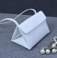 bag of foreign coins - Foreign handbag new fashion spring and summer shoulder bag triangle bag packet a generation of fat