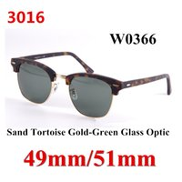 Wholesale 30 Brand Designer Fashion Glass Optic Men Sunglasses UV400 Sport Vintage Women Sun Glasses Retro Eyewear With Original box
