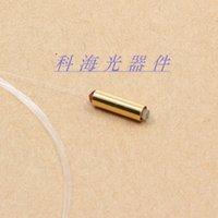 Wholesale Fiber optic single core collimator gold plated tube fiber optic collimator c lens collimator single unicoupler