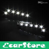 Wholesale 2pcs LED DRL Car Auto Truck Daytime Running Lamp Waterproof V White Light Bulb