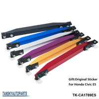 Wholesale SUBFRAME LOWER TIE BAR ES REAR with BEAKS Sticker FOR HONDA CIVIC ES Silver Gold Blue Red Purple Black TK CA1789ES