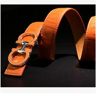 Wholesale 2016 brand designer belts men high quality genuine leather mens fashoin belt luxury belt cinturones hombre