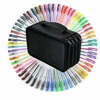 artistic bags - Gel Pens for Sketching Drawing Writing Custom Artistic Creations Adult Coloring Books Gel Pens Slots Pen Bag
