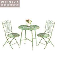 Wholesale WEISIYA garden furniture with three piece combination in European style