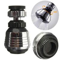 bamboo spout - 1x New Water Saving Kitchen Tap Faucet Aerator Diffuser Swivel Adjustable Nozzle Spout Kit