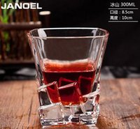 beers of europe - JANOEL Janow crystal wine glass cup cup whisky beer cup creative square cup of wine