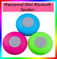 bass fit - Bluetooth Mini Speaker Waterproof Speaker Wireless Shower Handsfree Mic Suction Car Speaker Portable mini MP3 Super Bass fit iphone