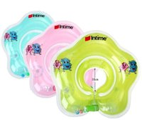 Wholesale New Style Summer Infant Baby Swimming Neck Float Ring Swim Circle High Quality Swimming Pool Accessories Cheap