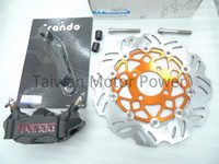big brake kits - Taiwan FRANDO HF17 Big Radial Piston Caliper Power Sheep mm Disc Brake Kit fit HONDA PCX oversize