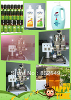 automatic capper - screw capping machine Semi automatic cosmetic Bottle Capper Industrial packing Machinery with shipping free