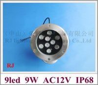 Wholesale new style W LED underwater light lamp LED swimming pool light fountain light AC12V W IP68 year warranty