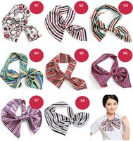 banks hotels - Lady s Stripe Small Performance Scarves Flight Attendant Bank Hotel and Scarves Stewardess Scarves Colors