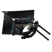 away tents - FOTGA DP3000 Professional Swing away Matte Box Sunshade for mm Rod DSLR Rig M3 sunshade umbrella sunshade tent