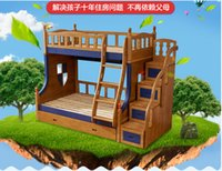 Wholesale 2016 hot sell children bed new fashion m m bunk bed in china manufactory factory