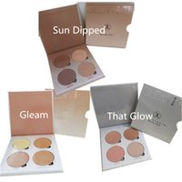 best cream blusher - 2016 Best quality New Branded ABH Glow Kit Makeup Face Blush Powder Blusher Palette Cosmetic Blushes Shades Gleam That Glow Sun Dipped