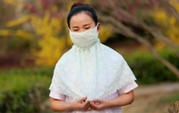 Wholesale New Protective mask special dust proof outdoor summer travel oversized Neck sunscreen masks protection against ultraviolet BY DHL