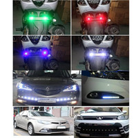 Wholesale 10pcs W LED White Eagle Eye Car Light High Power Car Daytime Running Light Auto white bulb car led light