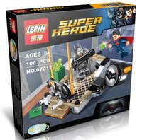 best batman comics - LEPIN Super Hero Batman VS Super Man Dawn of Justice DC Comic Minifigures Building Block Toys Best Legoelieds Toys