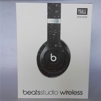 Wholesale Refurbished X PIGALLE Studio Wireless Used Beats studio Wireless Headphones Noise Cancel Bluetooth Headphones from afra headphones DHL