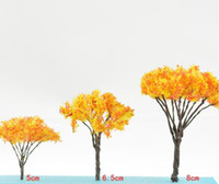 Wholesale Orange color trees height cm cm cm for sand toy building