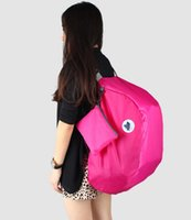 Wholesale Folding large capacity outdoor travel backpack female models Korean version of the ultra light mountaineering skin storage bag containing