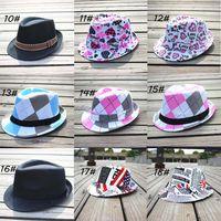 Unisex cowboy hats kids - Mixed style Fashion children hat Dicers Baby fedora hats Cowboy hat Kids fedoras