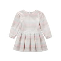 bella girls clothing - DAVE BELLA Cotton Spring Autumn long sleeve kid toddler baby girl party princess dress A Line pleated stripes child baby girl clothes