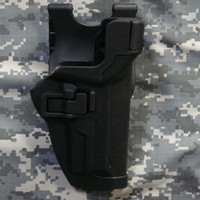 Wholesale Tactical Black Hawk LV3 M9Gun Holster Without Light for CS High Quality Outdoor Hunting Safety Gun Case