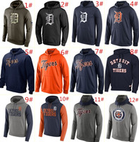 Wholesale MLB Tigers hoodies Baseball jerseys Detroit Salute To Service Platinum Collection Pullover Hoodie freeshipping