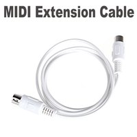 Wholesale MIDI Extension Cable Male to Male Pin M FT
