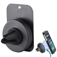 Wholesale 360 Degree Rotating Universal Air Vent Magnetic Car Cellphone Mount Holder Stand for Mobile Phone