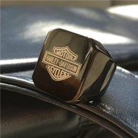 band seller - 2016 Cool Mens newest fashion Biker ring For Real Biker man polishing style hot sellers good quality biker ring