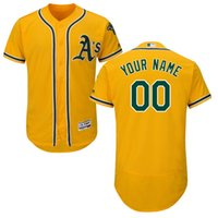 Wholesale Elite Men s baseball jerseys Oakland Athletics Majestic Flexbase Authentic Collection Custom all players size M XXXL