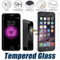 Wholesale Tempered glass For iPhone Samsung S7 S6 D H Premium Screen Protector for iPhone s s plus S S Galaxy Note