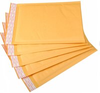 Wholesale 300pcs Yellow Bubble Envelope Shockproof Package Bags Paper Bubble Envelope Packing Bag mm