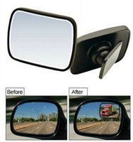 Wholesale 2 x Adjustable Auto Truch Car Rear View Blind Spot Mirror